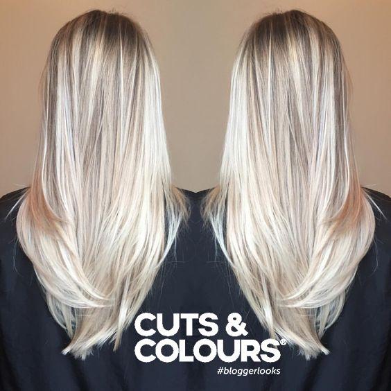 Blond Lang haar   Colour   CUTS & COLOURS