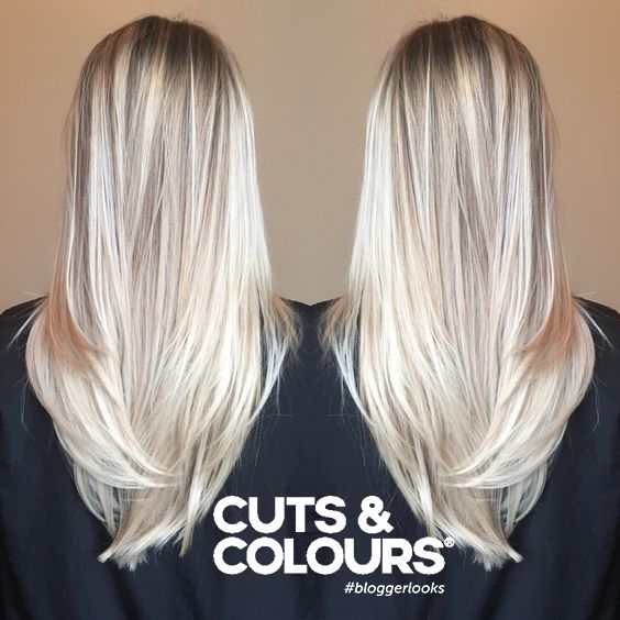 Blond Lang haar | Colour | CUTS & COLOURS