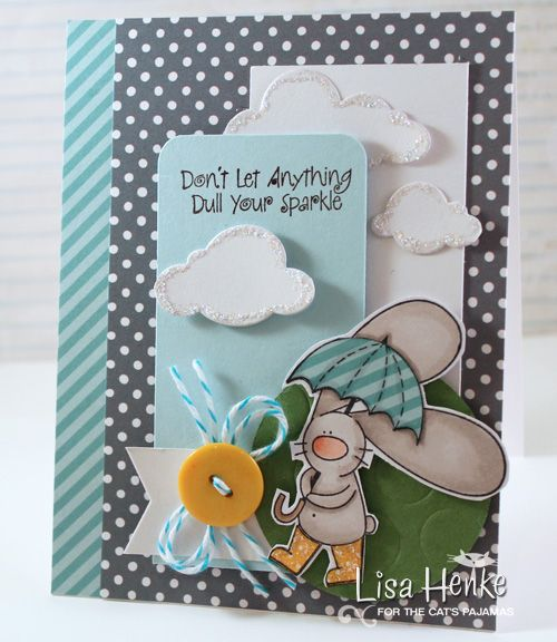 tcp- Spring sparkle bun by lisahenke - Cards and Paper Crafts at Splitcoaststampers