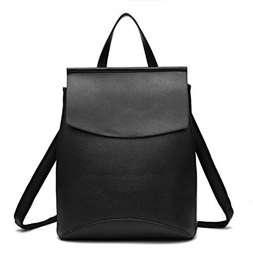New Trending Backpacks: Z-joyee Womens Casual Fashion Bag Soft PU Leather Backpack Shoulder Bags Black. Z-joyee Women's Casual Fashion Bag Soft PU Leather Backpack Shoulder Bags Black  Special Offer: $23.99  488 Reviews This PU leather backpack features flip-open cover design. Inside there is a zipped compartment, a document pocket and an cell phone pocket. 1 zippered pocket...
