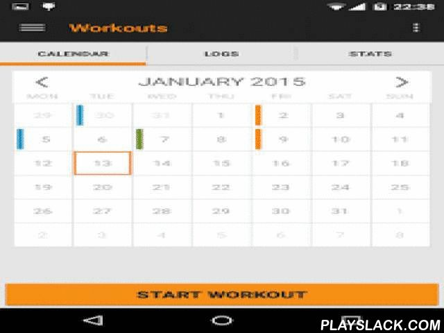 Beefcake - Gym Workout Log  Android App - playslack.com , Beefcake is a workout tracker where you log your exercises to track progress.Features  - Create and manage your own set of exercises and categories (a small set of examples are included from the beginning just to help you)  - Build multiple workouts and include different set of exercises  - Register your progress for each exercise (sets, reps, weight) - 3 different input types (weight+reps, reps, distance+time) - Plan workouts by…