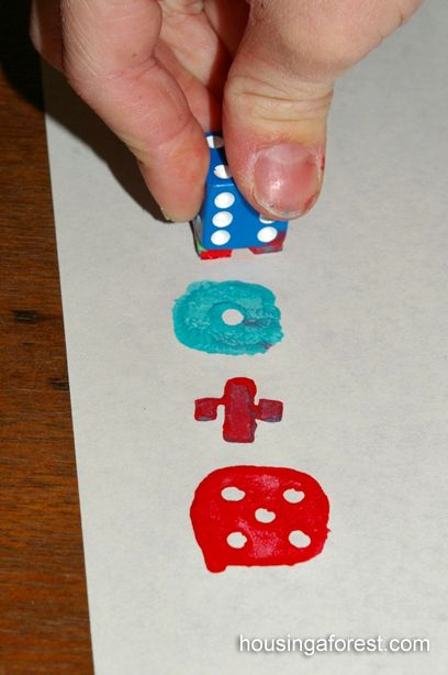 Stamping dice?! Who would've ever thought!? ;)