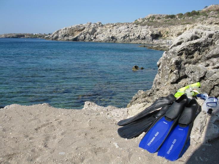 Snorkelen in Griekenland.