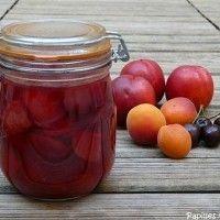 Recette de salade de fruits à mettre en bocaux
