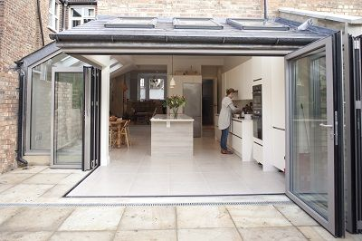 kitchen extension chiswick - Urbane Design Architects