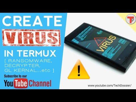 Termux 15: Create viruses in Termux | Ransomware | Elite | Decrypter