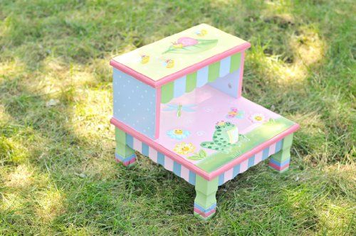 Teamson Kids Girls Wooden Step Stool - Magic Garden Room Collection Teamson Design Corp,http://www.amazon.com/dp/B001DLWPRG/ref=cm_sw_r_pi_dp_jMHXsb0BWTD7XV4E