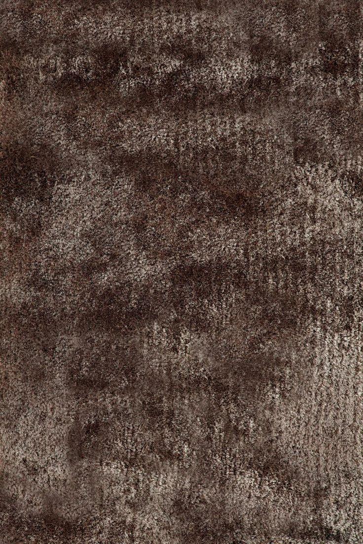 Lalee 347131082 Designer Hochflor Shaggy Teppich Handarbeit Uni Weicher Langflor Braun Grsse