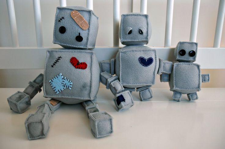 julies blog: Robot Family