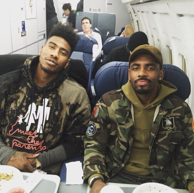 Kyrie and Iman Shumpert