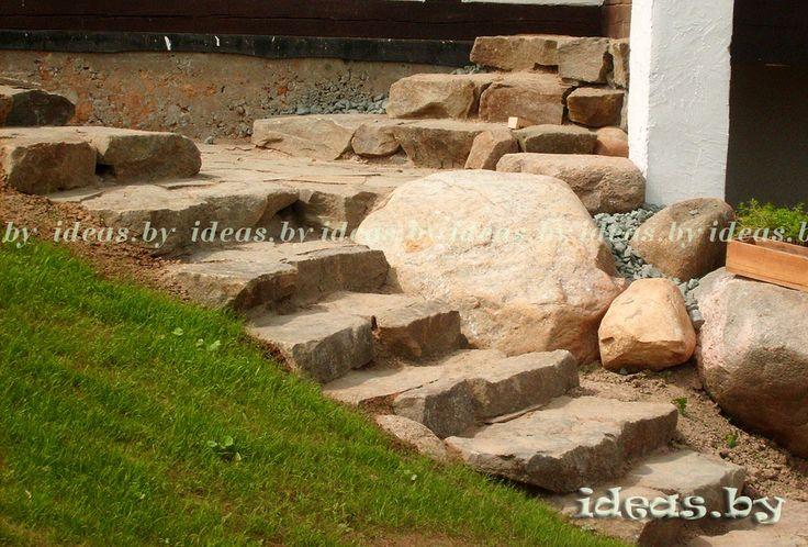 #Steps#лестница из камня#ландшафтный дизайн#Rosk#