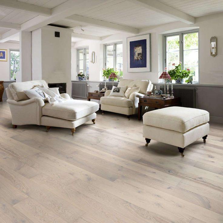 parquet_Rovere Sbiancato: spazzolato, linea Natura (armony floor)