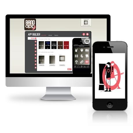 Bandapp - Übernahme von Konzeption, Entwicklung und Online Marketing in enger Abstimmung mit dem Start-Up zur Erreichung von Milestones.