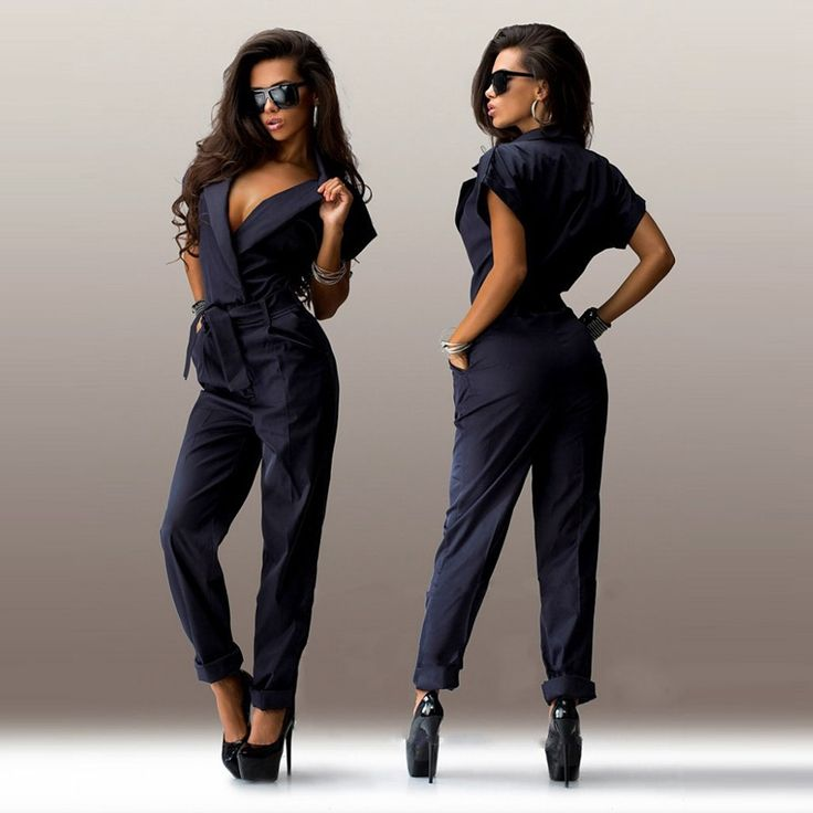 new year Overalls for women casual elegant rompers womens jumpsuit female plus size combinaison femme monos largos de mujer 2015