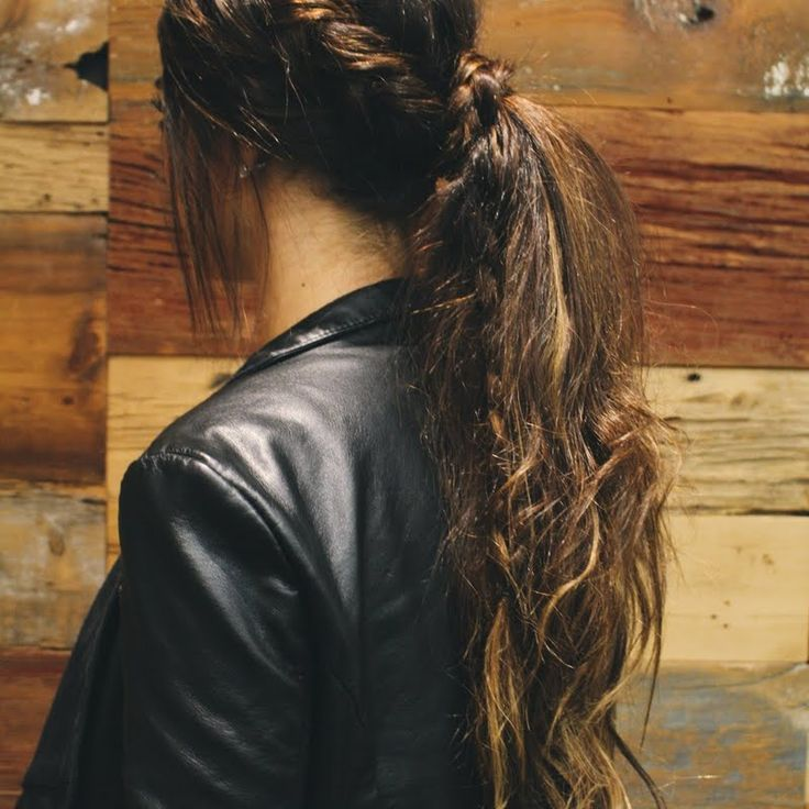 Brittan's Beauty brands gift worked color treated hair into a messy ponytail! #MyGreatHairDay