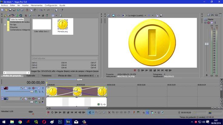 Efecto Moneda en Sony Vegas Pro 13 - Esquina Tips
