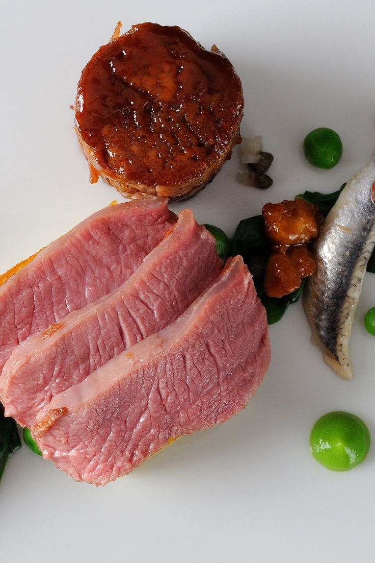 Lamb rump is an underrated yet supremely tasty cut. In this recipe, Alan Murchison teases out all of its qualities - serving with a pea purée, anchovies and wild garlic.