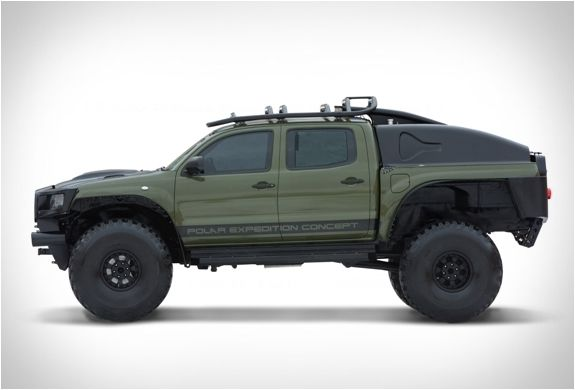 TOYOTA TACOMA POLAR EXPEDITION TRUCK - if it can get to the South Pole, I think it can be a BOV!
