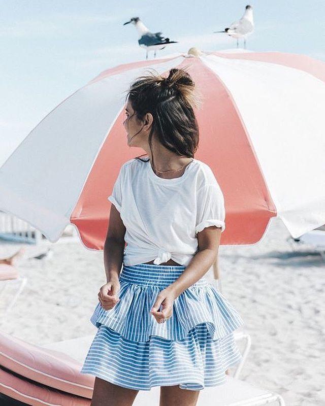 Les volants du lundi #happymonday #skirt #summerstyle #styleinspiration #ootd #fashion #instamode