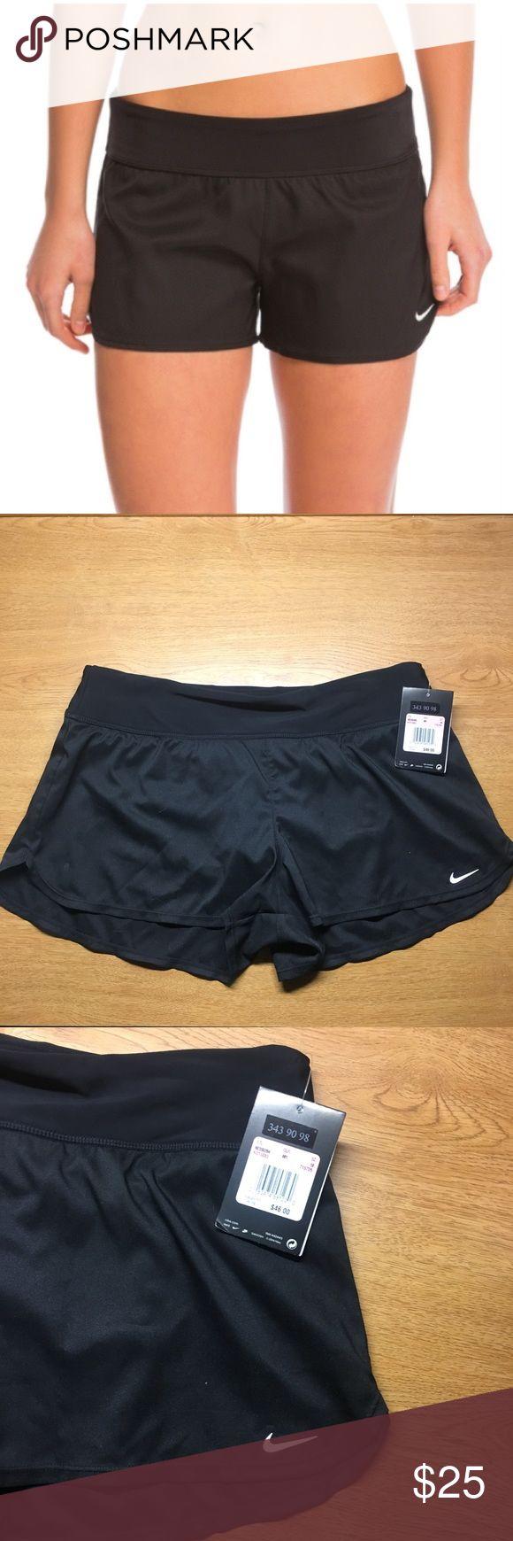 Nike she'd water swim shorts. Brand new!! Can be worn as regular shorts as well as swim shorts! Size 10. Nike Swim