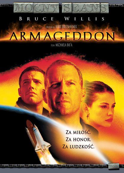 Armageddon, 1998 plakat