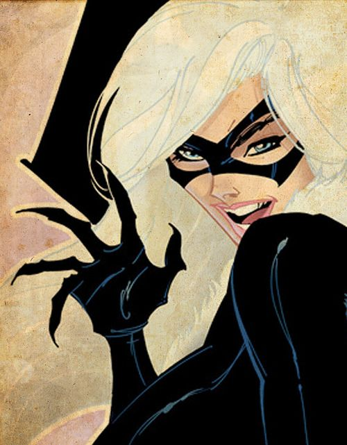 The Black Cat by J. Scott Campbell