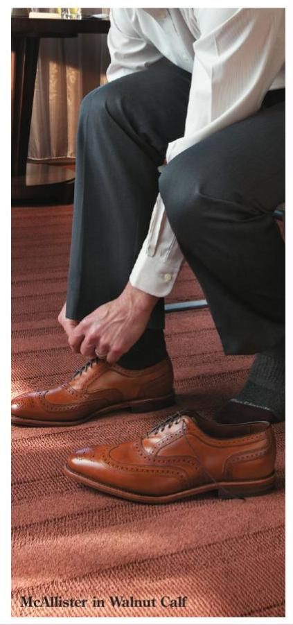 Allen Edmonds - McAllister in Walnut - #ClippedOnIssuu from Allen Edmonds Fall 2011 catalog
