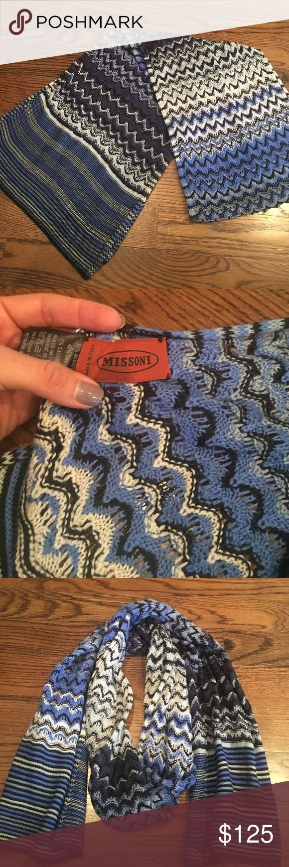 Missoni scarf Beautiful long Missoni scarf. Excellent condition. Worn only a few times. Missoni Accessories Scarves & Wraps