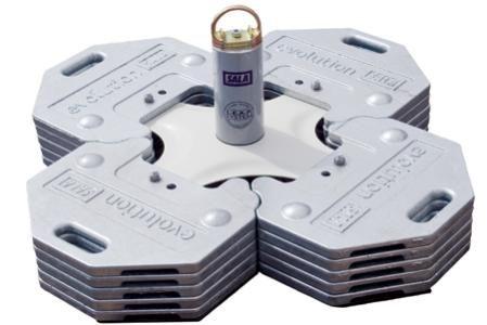 Dbi Sala 7255000 Freestanding Counterweight Anchor Fall