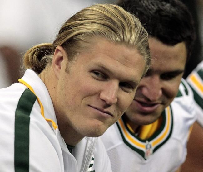 Clay Matthews and another one for Julia                                                                                                                                                                                 More