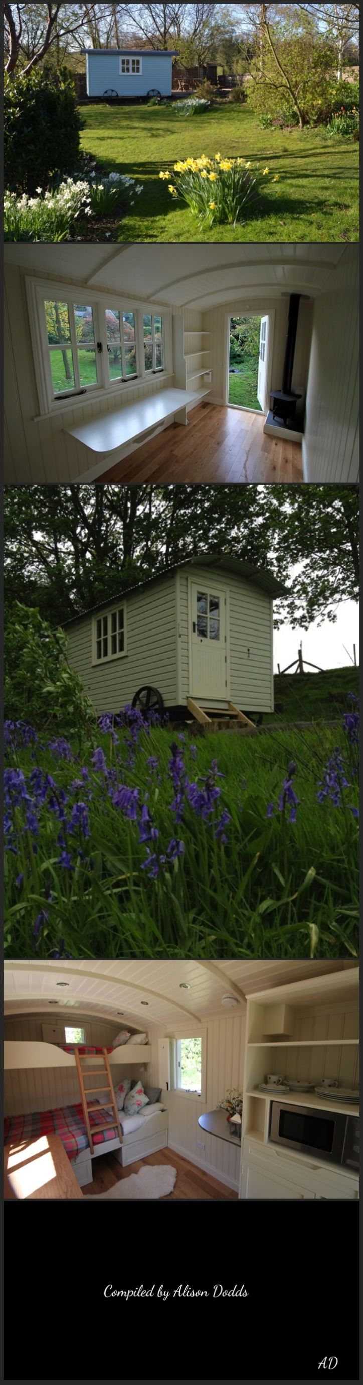 Shepherd's Huts.........by the Yorkshire hut company painted in any FB colour. www.Facebook.com/alison.dodds.39