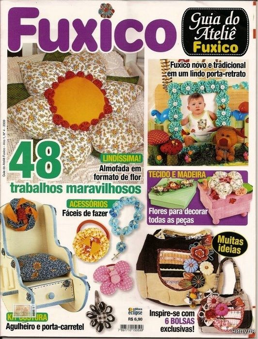 revista: Magazine, De Fuxico, Czasopisma, Revistas De, The Handmade, Revista Variada, Revista Nacionai, All, Crafts