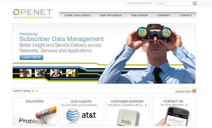 Service optimization software providers, Openet.  openet.com
