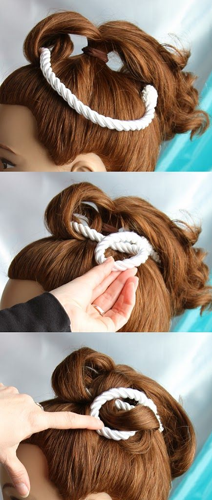 Jane Sterling Mad Men Hairstyle – Vintage Christmas Hair Accessories Tutorial #2   Bobby Pin Blog / Vintage hair and makeup tips and tutorials