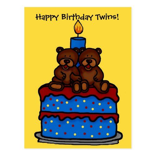18 Best Birthday Card For Twins Images On Pinterest