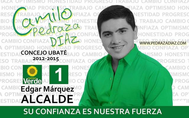 afiche campaña 2011 (Jaime Fajardo Bastidas) by capdiaz, via Flickr