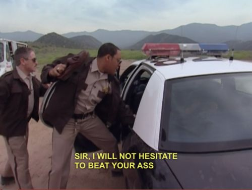 Reno 911 @Megan Herron this reminded me of your FB status. :)