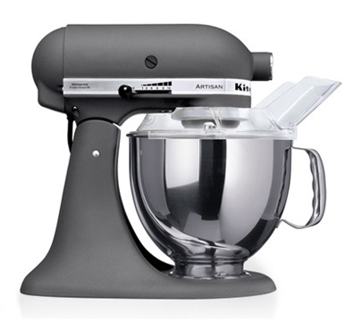 KitchenAid Artisan mixer - need to get me one of these :) http://www.amazon.com/gp/product/B00007IT2P/ref=as_li_tf_tl?ie=UTF8&tag=mybl0a6-20&linkCode=as2&camp=1789&creative=9325&creativeASIN=B00007IT2P