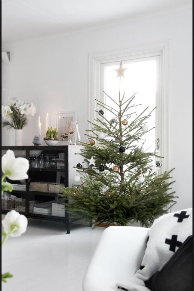 Nordic Christmas home.