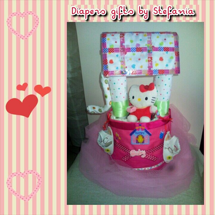 Diaper cakes by Stefania