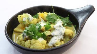 Milde Indische curry met groenten