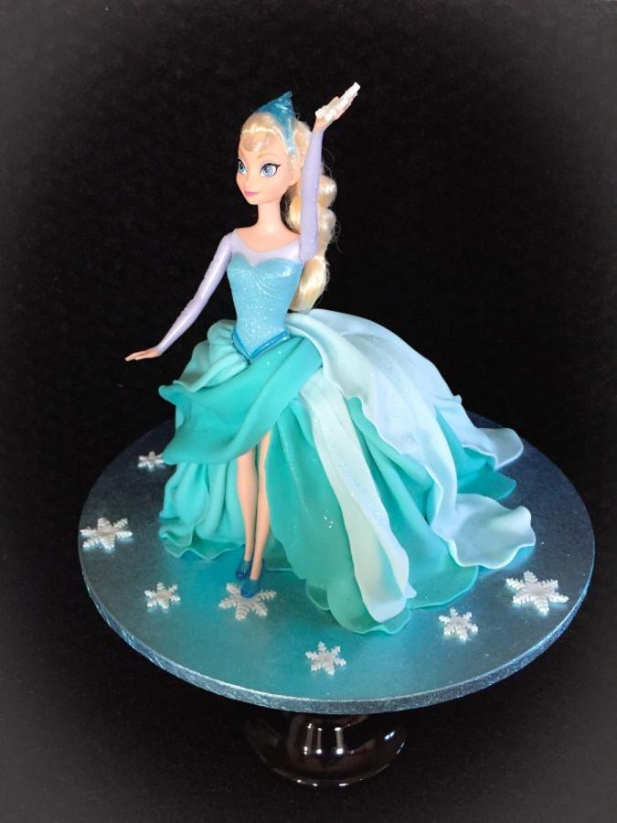 ... Birthday ideas on Pinterest  Cake ideas, Elsa doll cake and Doll