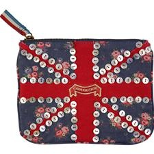 Union Jack coin purse.