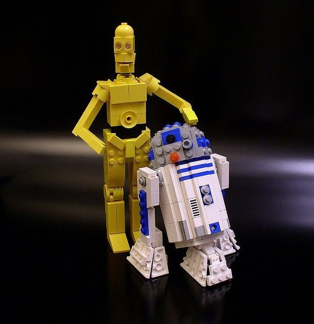 R2d2 And C3po Lego LEGO Star Wars C3PO &a...