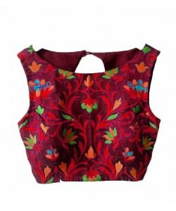 New Fancy Blouse Materials..  http://www.kmozi.com/designer-blouse/new-fancy-blouse-materials-1032