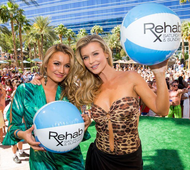 Joanna Krupa and Marta Krupa celebrated their birthday parties at Rehab Las Vegas inside the Hard Rock Hotel Las Vegas