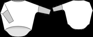Schnittmuster: Weites Shirt - Materialmix - Shirts & Tops - Damen - burda style