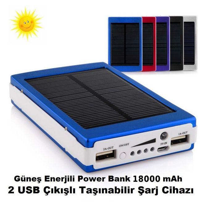 Outdoor Tipi Süper Parlak 20 ledli 18000 mAh Powerbank :: talepsepeti.net