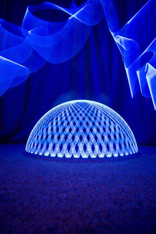 Light Art by Ian Hobson