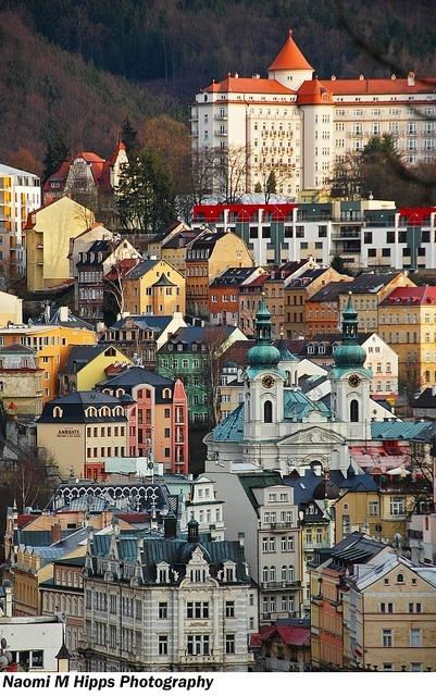 Karlovy Vary by Naomi Hipps, via Flickr